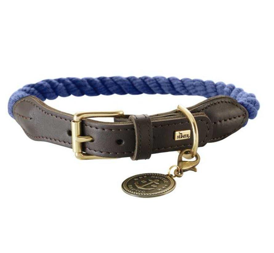 Dog Collar List Blue