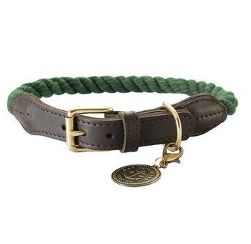 Hunter Dog Collar List Olive