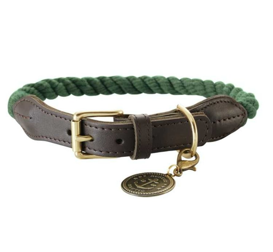 Dog Collar List Olive
