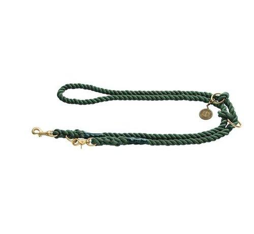 Hunter Adjustable Dog Leash List Olive