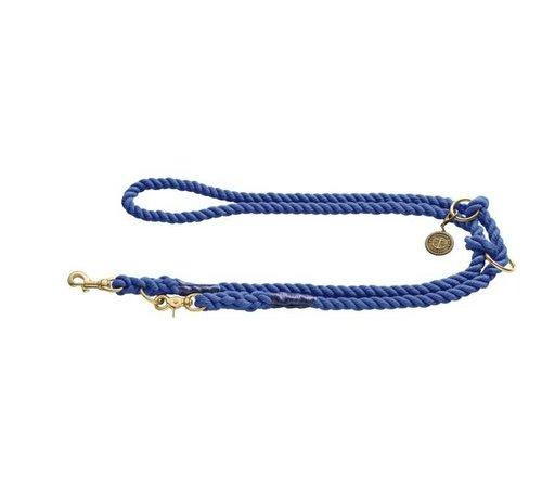 Hunter Hondenriem List Blauw