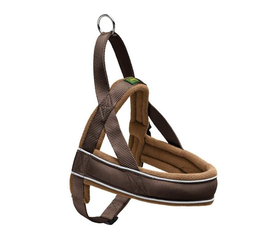 Dog Harness Racing Brown Cognac