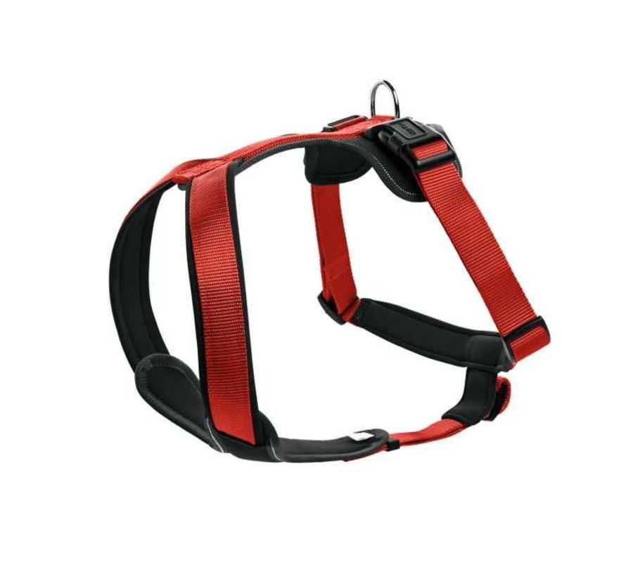 Dog Harness Neoprene Red