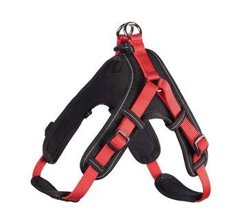 Hunter Dog Harness Neoprene Vario Quick Red
