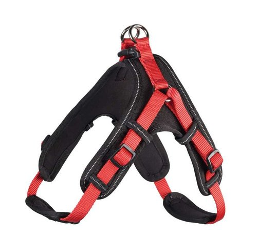Hunter Dog Harness Neoprene Vario Quick Red