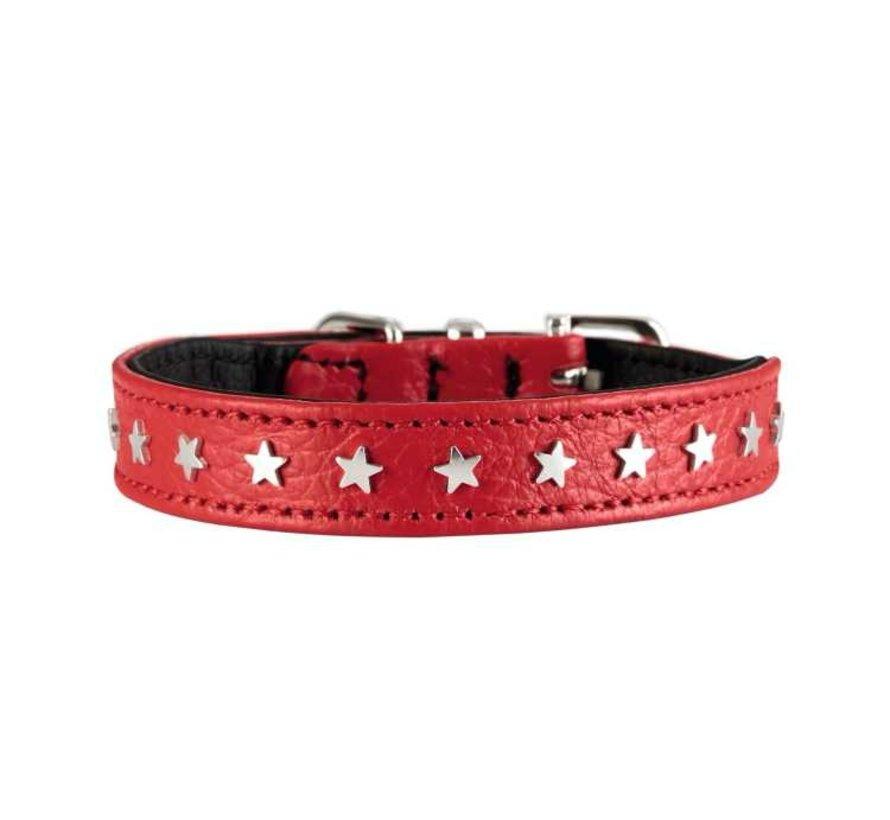 Dog Collar Capri Mini Red