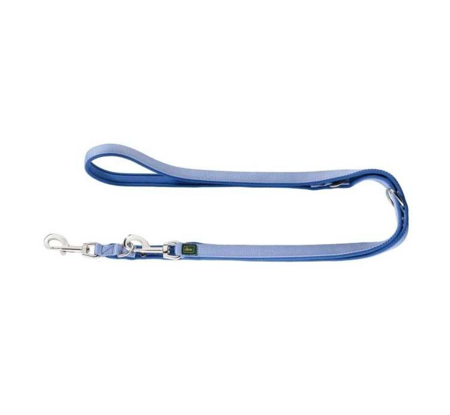 Verstelbare Hondenriem Neopreen Blauw