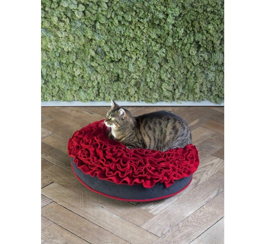 Cat Bed Rose