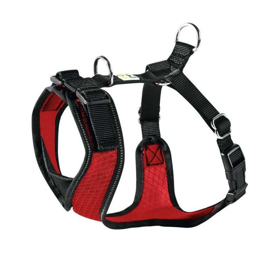 Dog Harness Manoa Vario Rapid Red