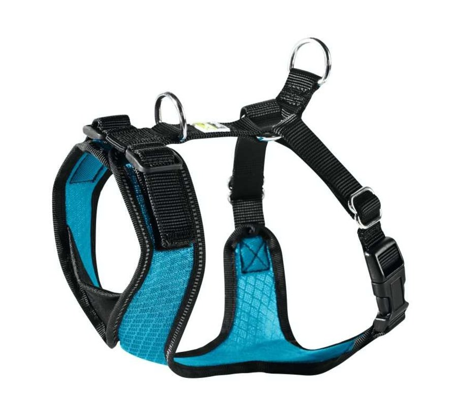Dog Harness Manoa Vario Rapid Blue