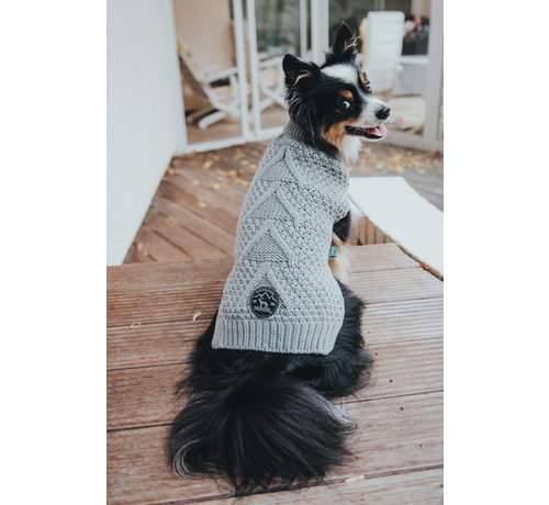 Hunter Dog Sweater Malmö Grey