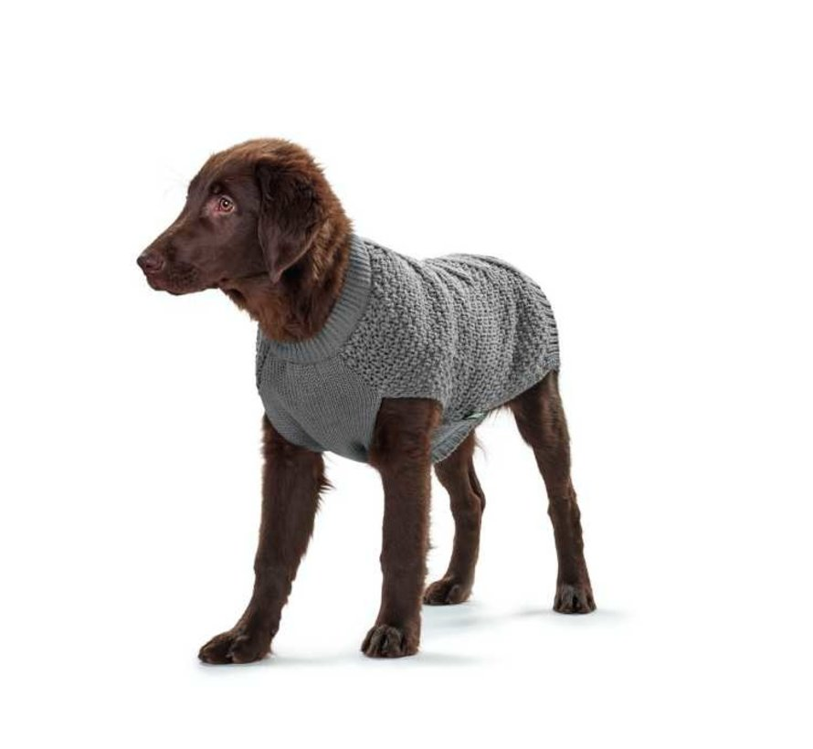 Dog Sweater Malmö Grey