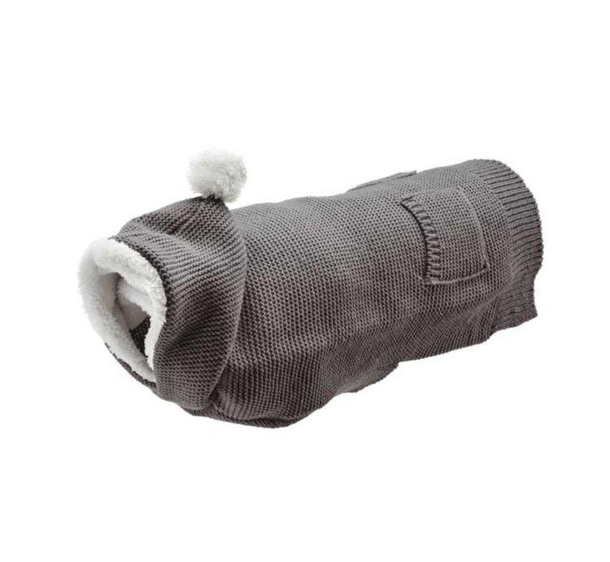 Dog Sweater Rögla Grey