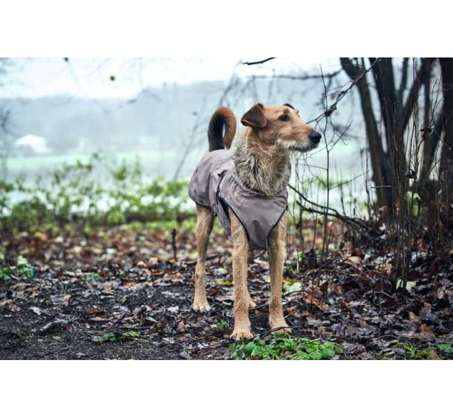 Dog Coat Uppsala Taupe