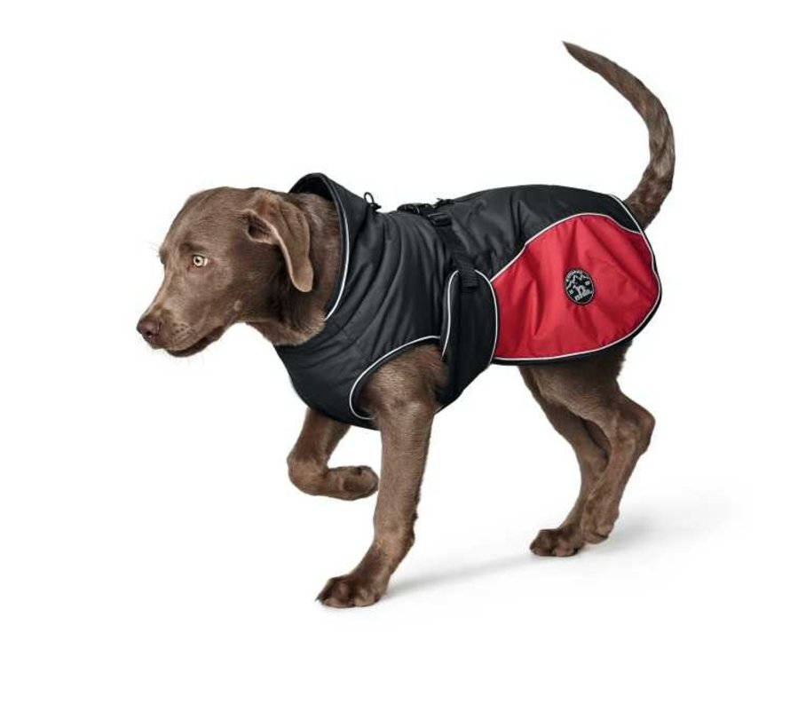 Dog Coat Uppsala Cozy Red