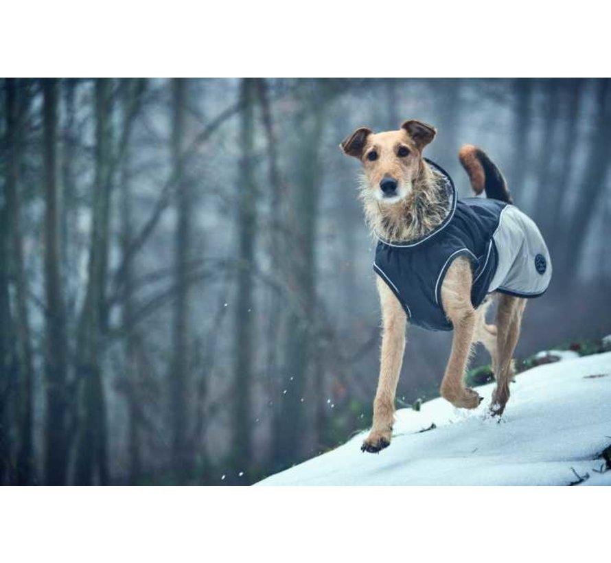 Dog Coat Uppsala Cozy Grey