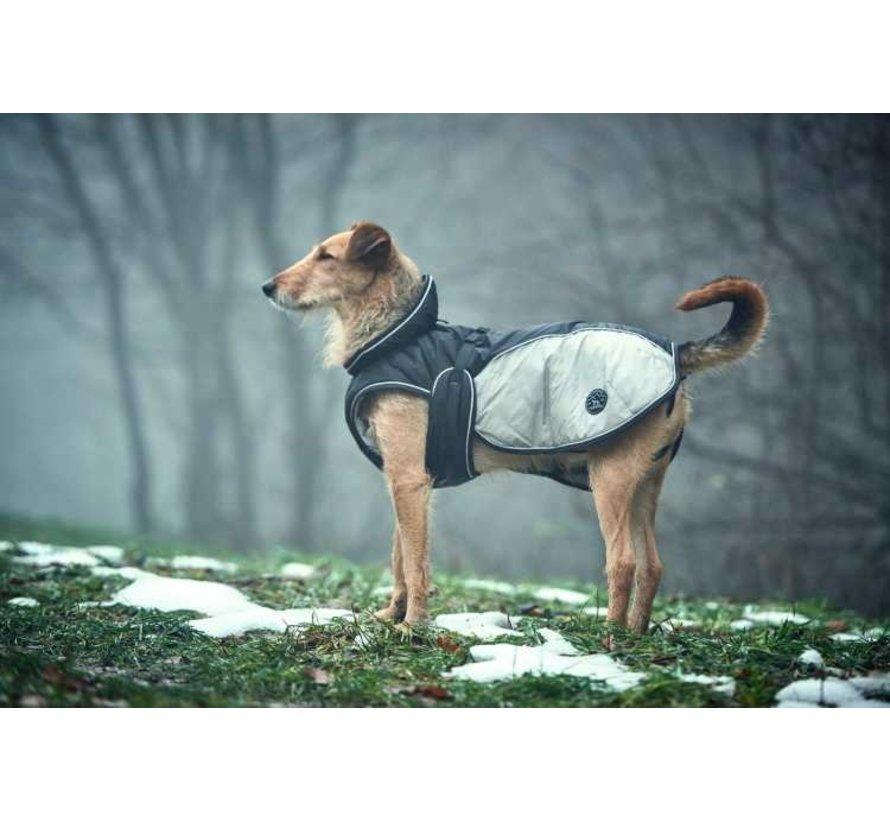Dog Coat Uppsala Extreme Grey