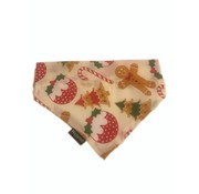 Wagytail Dog Scarf Christmas Treats Bandana