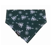Wagytail Dog Scarf Christmas Tree Bandana