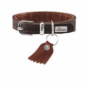 Hunter Dog Collar Cody Petit Dark Brown