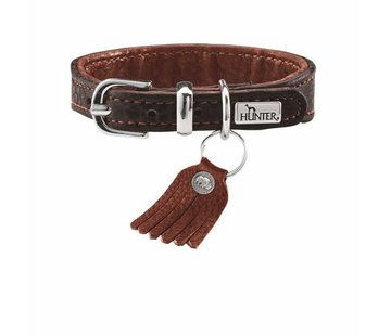Hunter Dog Collar Cody Petit Dark Brown