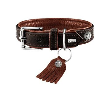 Hunter Dog Collar Cody Dark Brown