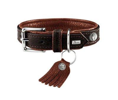Hunter Dog Collar Cody Dark Brown