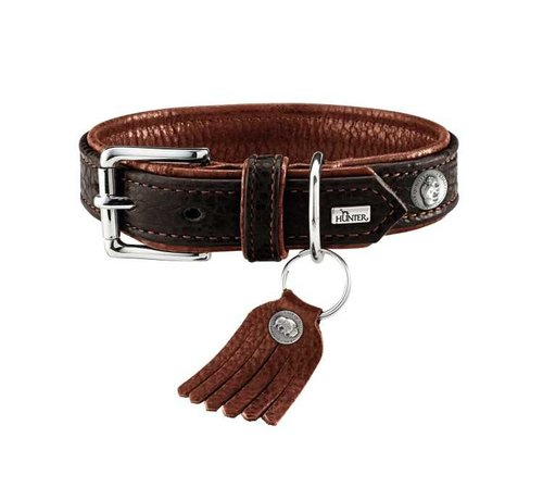 Hunter Hondenhalsband Cody Donkerbruin