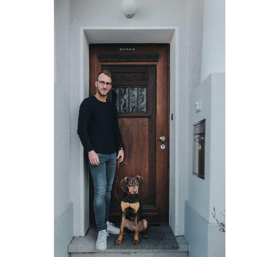 Verstelbare Hondenriem Cody Donkerbruin