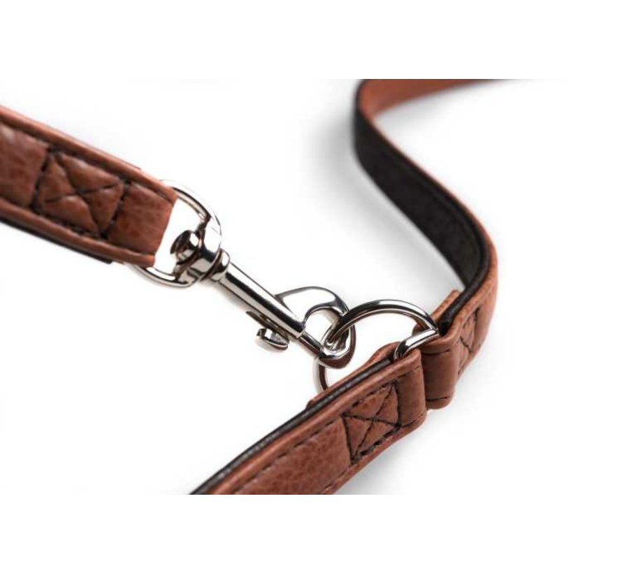 Adjustable Dog Leash Cody Cognac