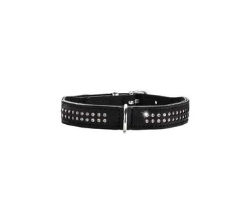 Hunter Dog Collar Diamond Elk Petit Black