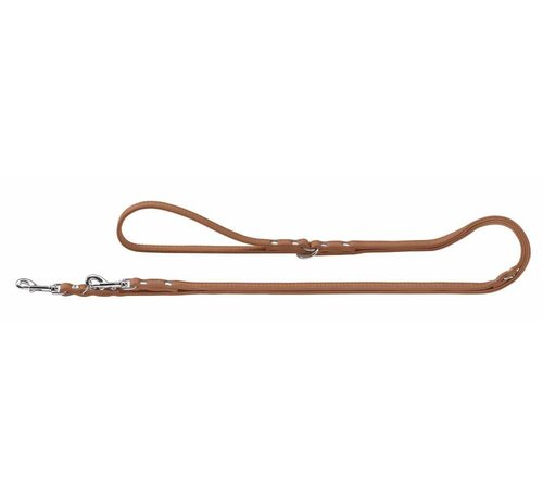 Hunter Dog Leash Diamond Elk Petit Cognac