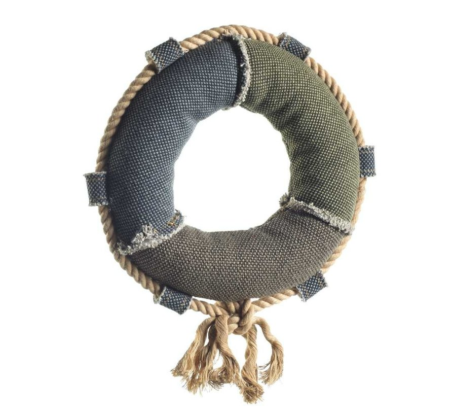Dog Toy Canvas Life Ring