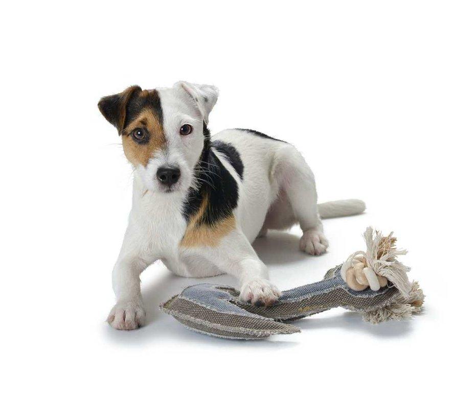 Hondenspeelgoed Canvas Anchor