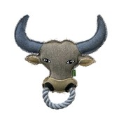 Hunter Dog Toy Canvas Ring Ox