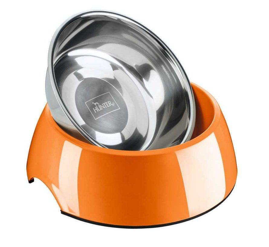 Drinkbak of Voerbak Melamine Oranje
