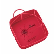 Hunter Foldable Travel Bowl List Red