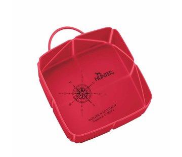 Hunter Foldable Travel Bowl List Red