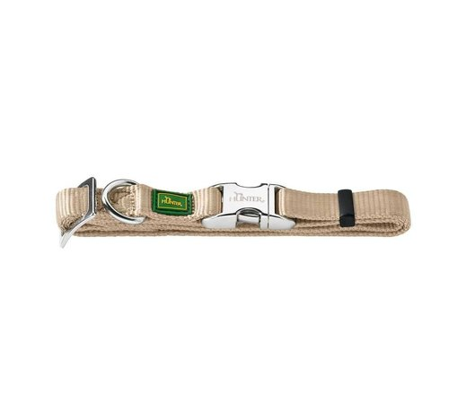 Hunter Dog Collar Vario Alu Strong Beige