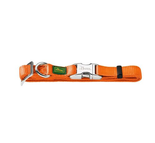Hunter Dog Collar Vario Alu Strong Orange