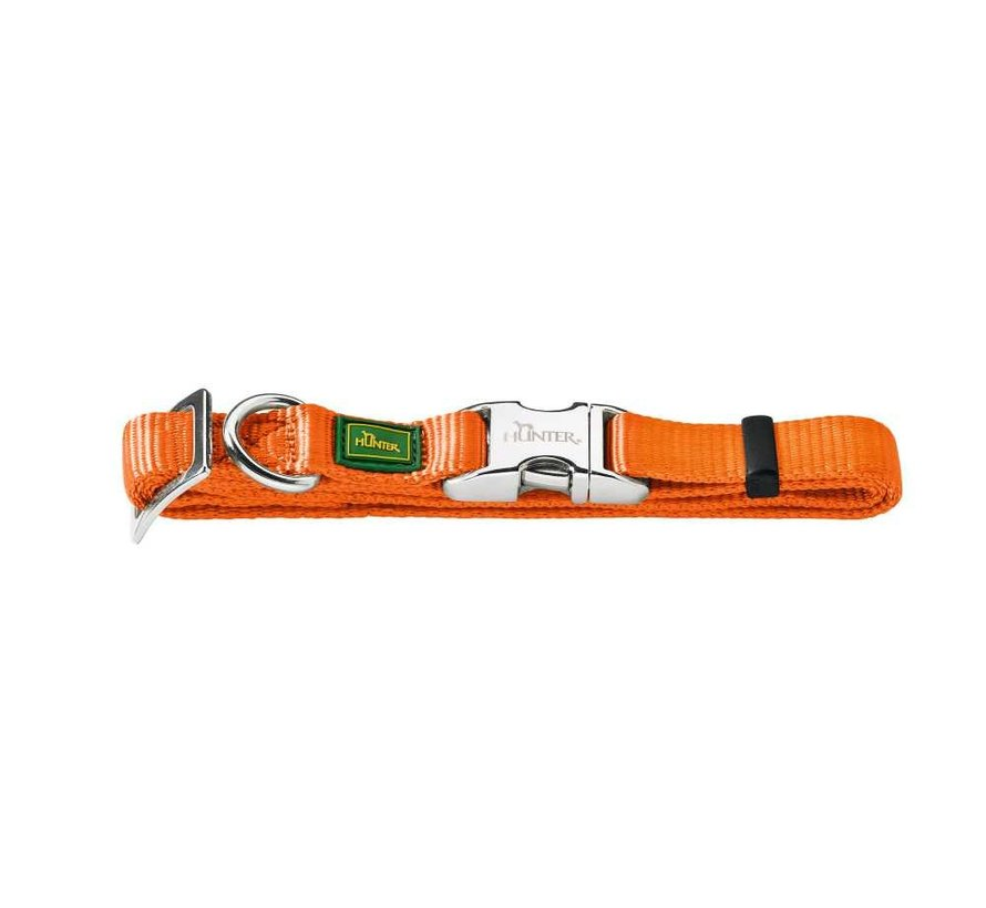 Dog Collar Vario Alu Strong Orange