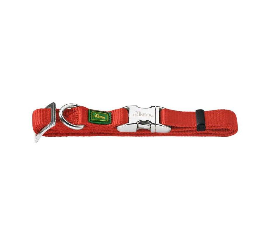 Dog Collar Vario Alu Strong Red