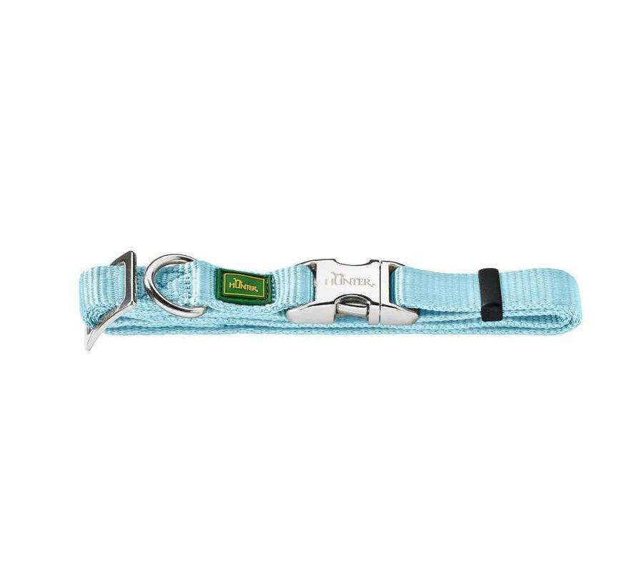 Dog Collar Vario Alu Strong Light Blue