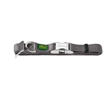 Hunter Dog Collar Vario Alu Strong Grey