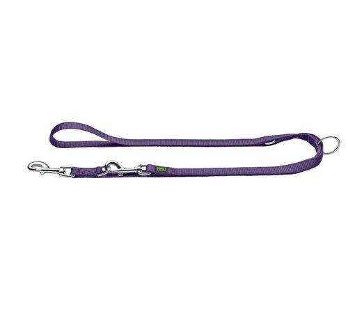 Hunter Adjustable Dog Leash Nylon Violet