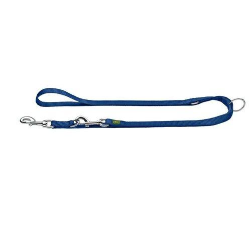 Hunter Adjustable Dog Leash Nylon Navy