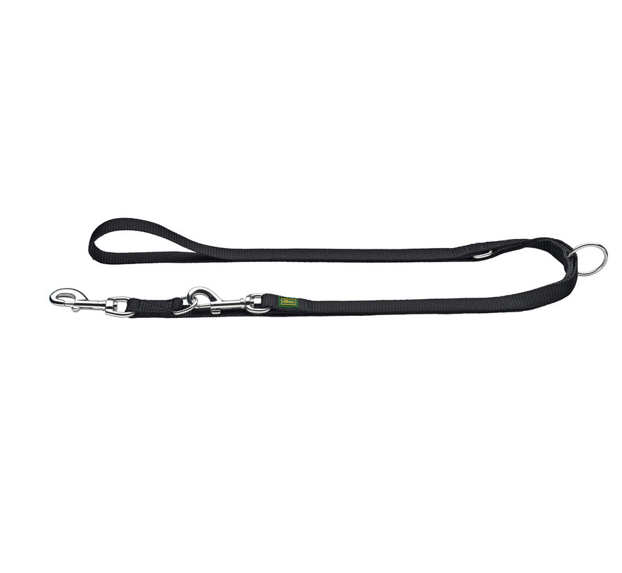 Adjustable Dog Leash Nylon Black