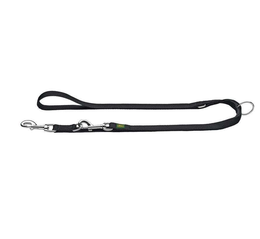 Verstelbare Hondenriem Nylon Zwart XL