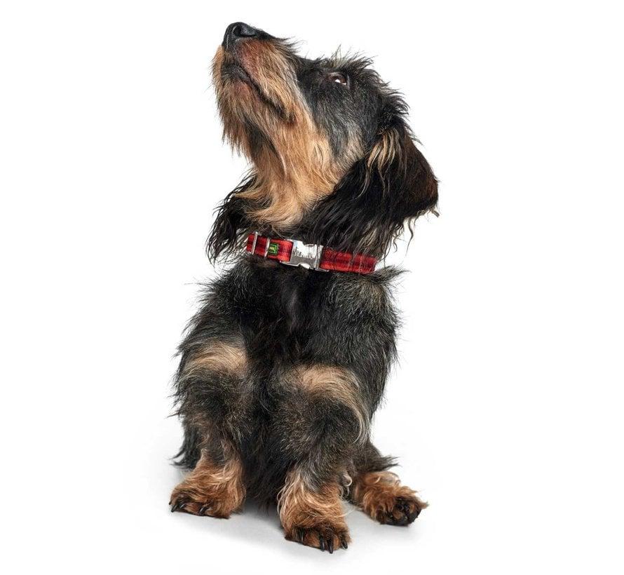 Dog Collar Davao Alu Strong Red