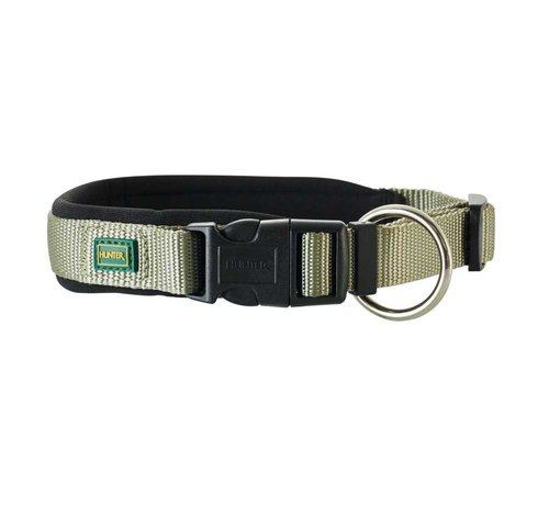 Hunter Dog Collar Neoprene Vario Plus Olive